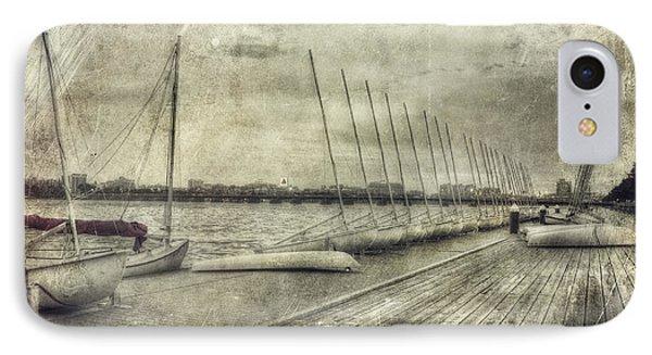 Vintage Boston Mit Sailing Pavilion IPhone Case by Joann Vitali