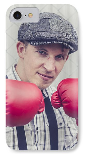 Vintage Boxers IPhone Case by Jorgo Photography - Wall Art Gallery