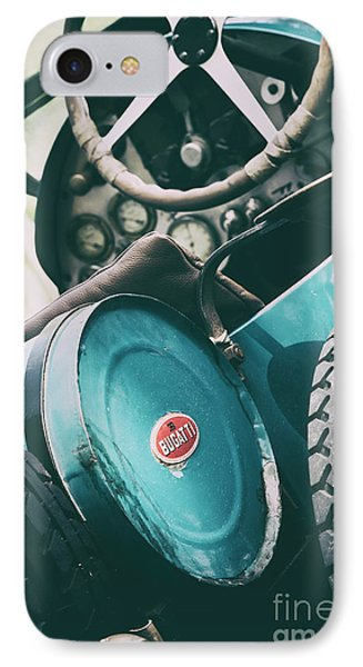 Vintage Bugatti T23 IPhone Case by Tim Gainey