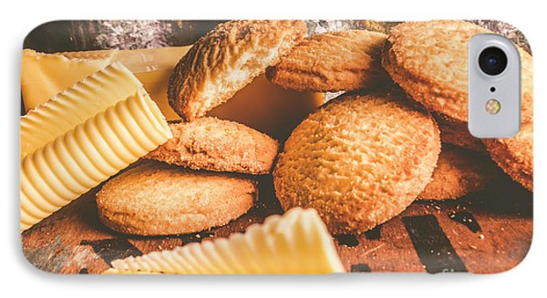 Vintage Butter Shortbread Biscuits IPhone Case