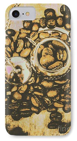 Vintage Cafe Artwork IPhone Case