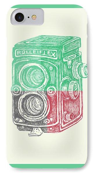 Vintage Camera Color IPhone Case