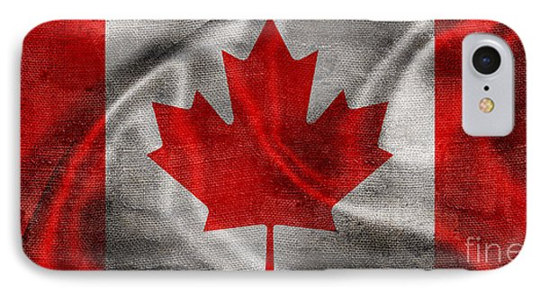 Vintage Canada Flag IPhone Case