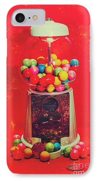 Vintage Candy Store Gum Ball Machine IPhone Case