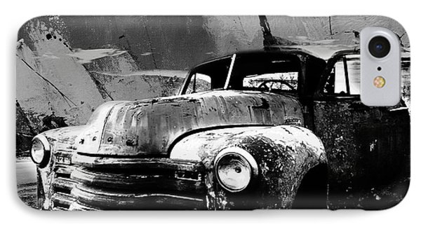 Vintage Car 04 IPhone Case by Gull G