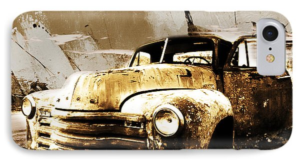 Vintage Car IPhone Case by Gull G