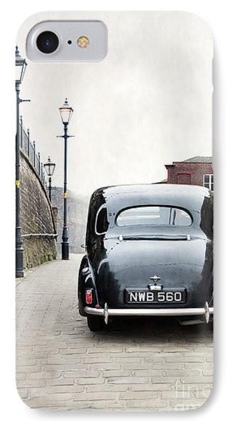 Vintage Car On A Cobbled Street IPhone Case