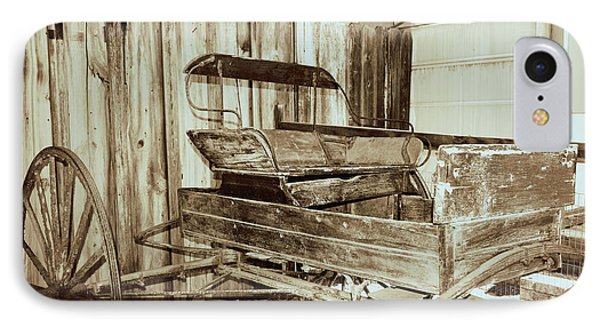 Vintage Carriage IPhone Case by Ray Shrewsberry