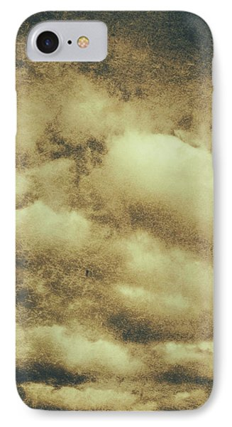 Vintage Cloudy Sky. Old Day Background IPhone Case by Jorgo Photography - Wall Art Gallery