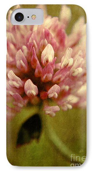 Vintage Clover IPhone Case by Aimelle