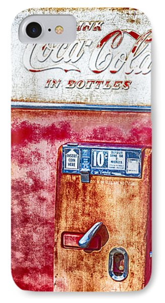 Vintage Coca-cola Machine 10 Cents IPhone Case