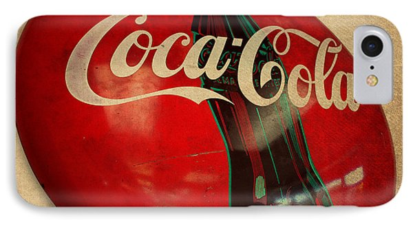 Vintage Coca Cola Sign IPhone Case by Design Turnpike