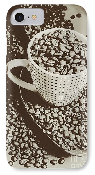 Vintage Coffee Art. Stimulant IPhone 7 Case