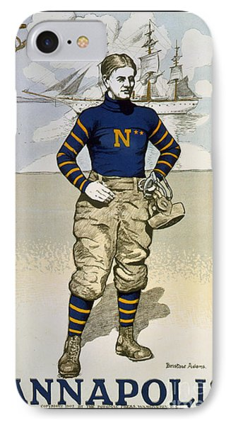 Vintage College Football Annapolis IPhone Case