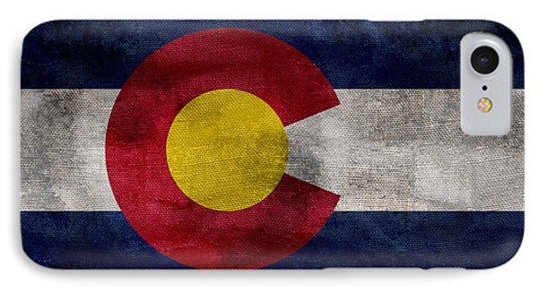 Vintage Colorado Flag IPhone Case