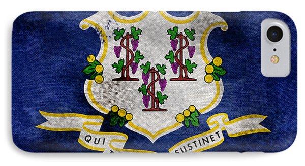 Vintage Connecticut Flag IPhone Case