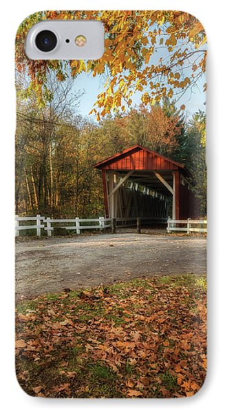 IPhone Case featuring the photograph Vintage Covered Bridge by Dale Kincaid