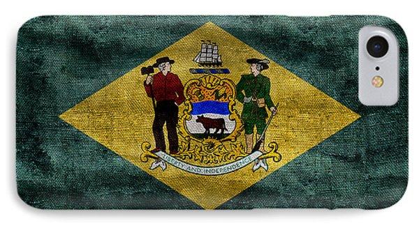 Vintage Delaware Flag IPhone Case