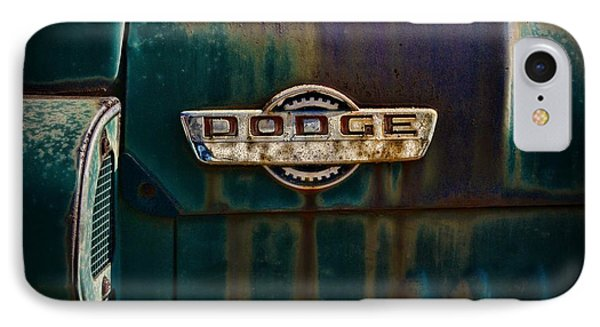 Vintage Dodge Emblem  IPhone Case by Paul Ward