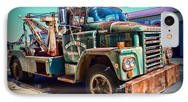 Vintage Dodge Tow Truck IPhone Case by Paul Ward