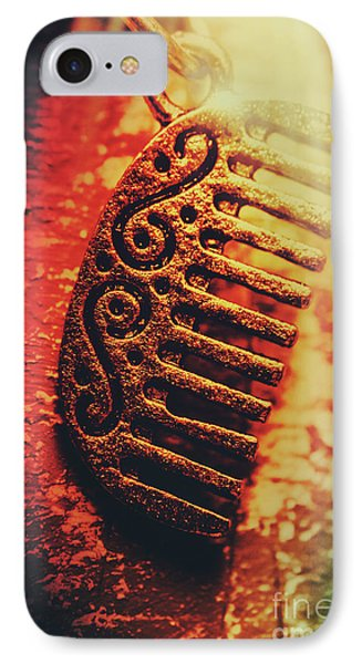 Vintage Egyptian Gold Comb IPhone Case by Jorgo Photography - Wall Art Gallery