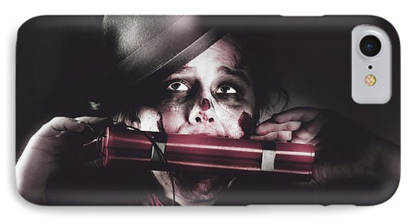 Vintage Evil Dead Terrorist With Explosives IPhone Case