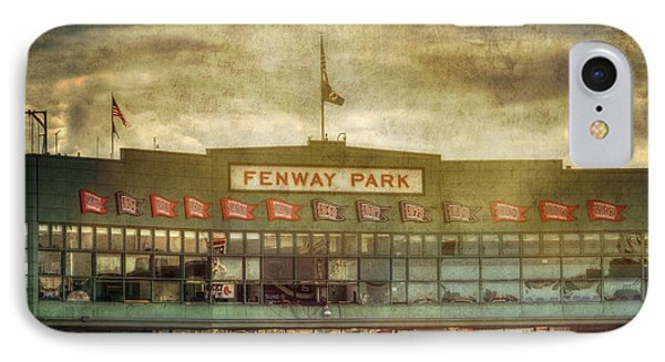 Vintage Fenway Park - Boston IPhone Case by Joann Vitali