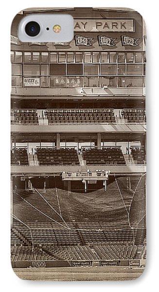 Vintage Fenway Park IPhone Case by Susan Candelario