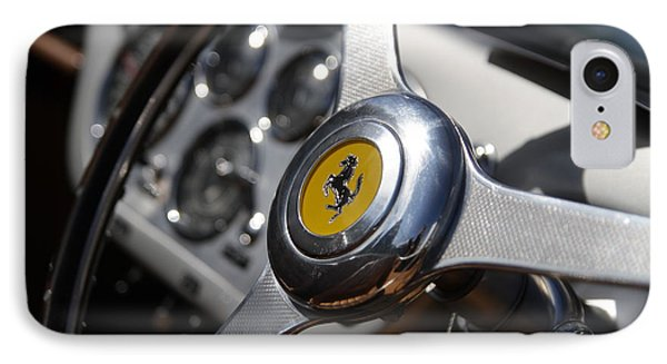 IPhone Case featuring the photograph Vintage Ferrari Wheel by Joel Witmeyer