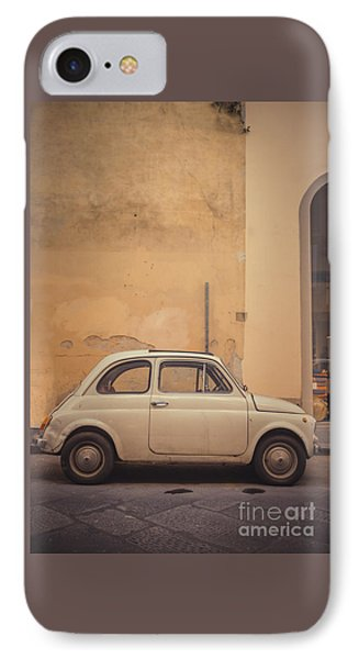 Vintage Fiat In Italy IPhone Case