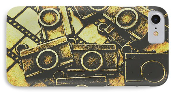 Vintage Film Camera Scene IPhone Case by Jorgo Photography - Wall Art Gallery