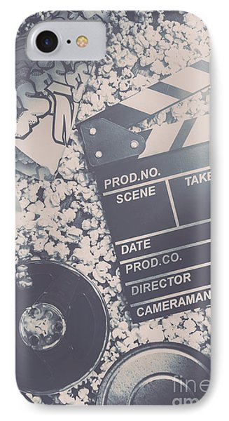 Vintage Film Production IPhone Case by Jorgo Photography - Wall Art Gallery