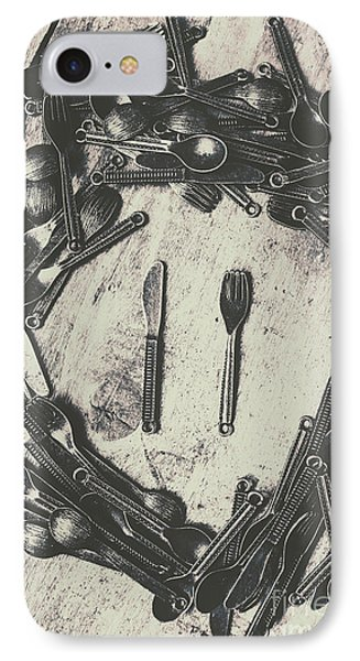 Vintage Food Service IPhone Case by Jorgo Photography - Wall Art Gallery
