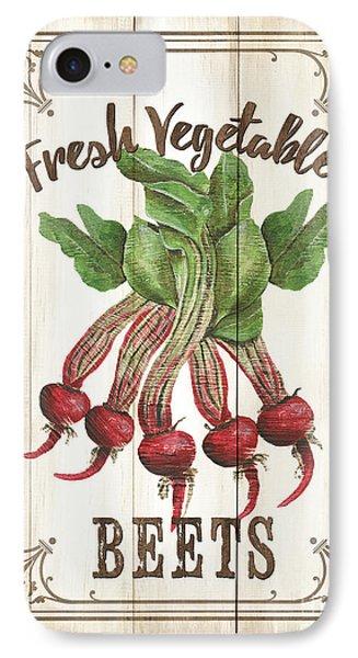 Vintage Fresh Vegetables 1 IPhone Case by Debbie DeWitt