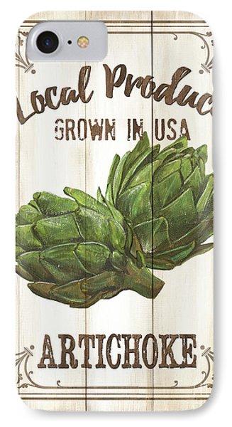 Vintage Fresh Vegetables 2 IPhone 7 Case by Debbie DeWitt