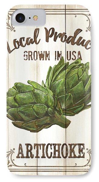Vintage Fresh Vegetables 2 IPhone Case by Debbie DeWitt