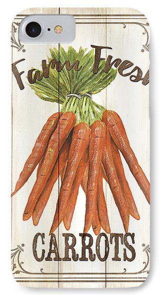 IPhone Case featuring the painting Vintage Fresh Vegetables 3 by Debbie DeWitt