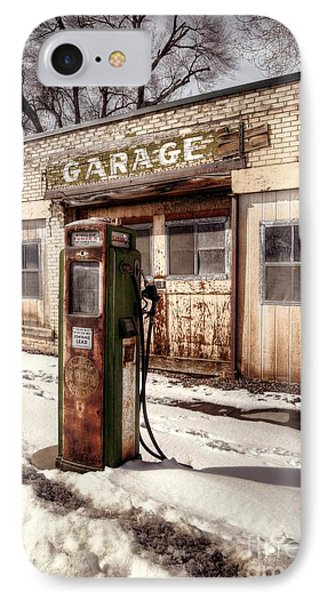 Vintage Garage IPhone Case