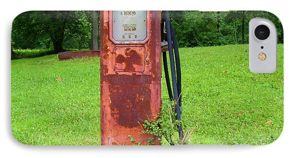 Vintage Gas Pump IPhone Case
