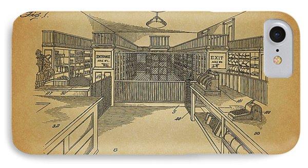 Vintage General Store IPhone Case