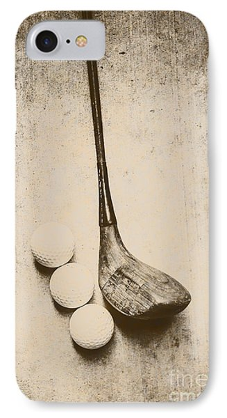 Golf iPhone 7 Case - Vintage Golf Artwork by Jorgo Photography - Wall Art Gallery