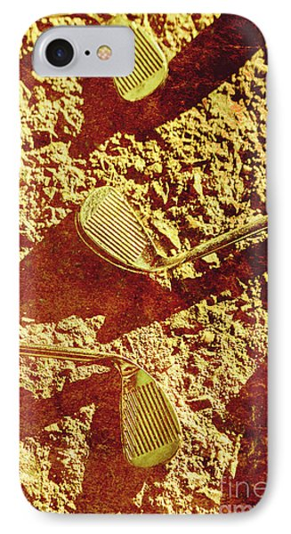 Vintage Golf Irons IPhone Case