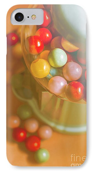Vintage Gum Ball Candy Dispenser IPhone Case by Jorgo Photography - Wall Art Gallery