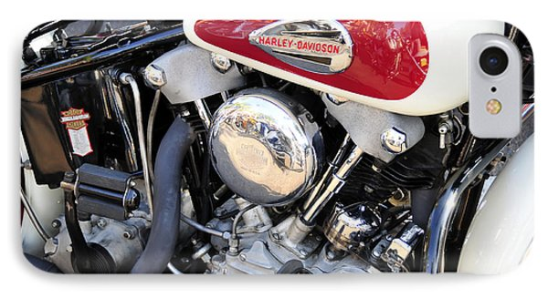 Vintage Harley V Twin Phone Case by David Lee Thompson