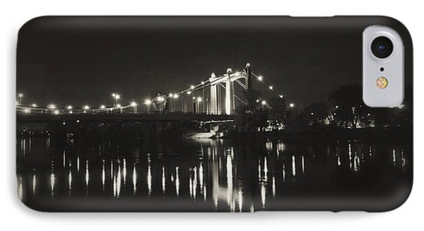 Vintage Hennepin Bridge IPhone Case by Heidi Hermes