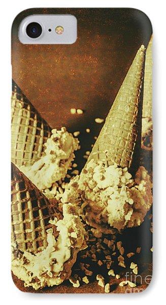 Vintage Ice Cream Cones Still Life IPhone Case