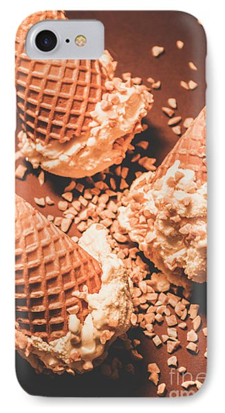 Vintage Ice Cream Shop Art IPhone Case by Jorgo Photography - Wall Art Gallery