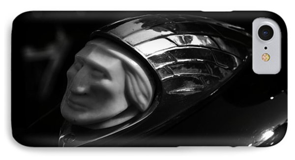 Vintage Indian Chief Head Phone Case by David Lee Thompson
