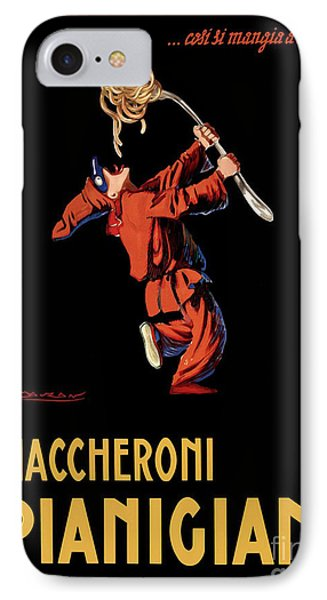Vintage Italian Pasta Advertising IPhone Case by Mindy Sommers