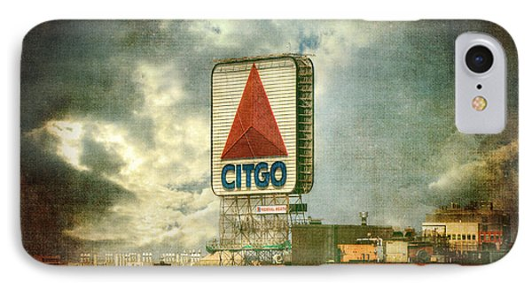 Vintage Kenmore Square Citgo Sign - Boston Red Sox IPhone Case